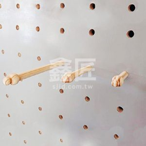 洞洞板配件-松木葫蘆頭木棒